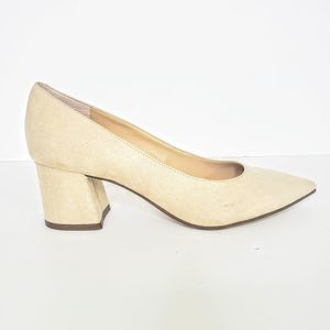 Unisa Tan Pointed Toe Pumps Size 8